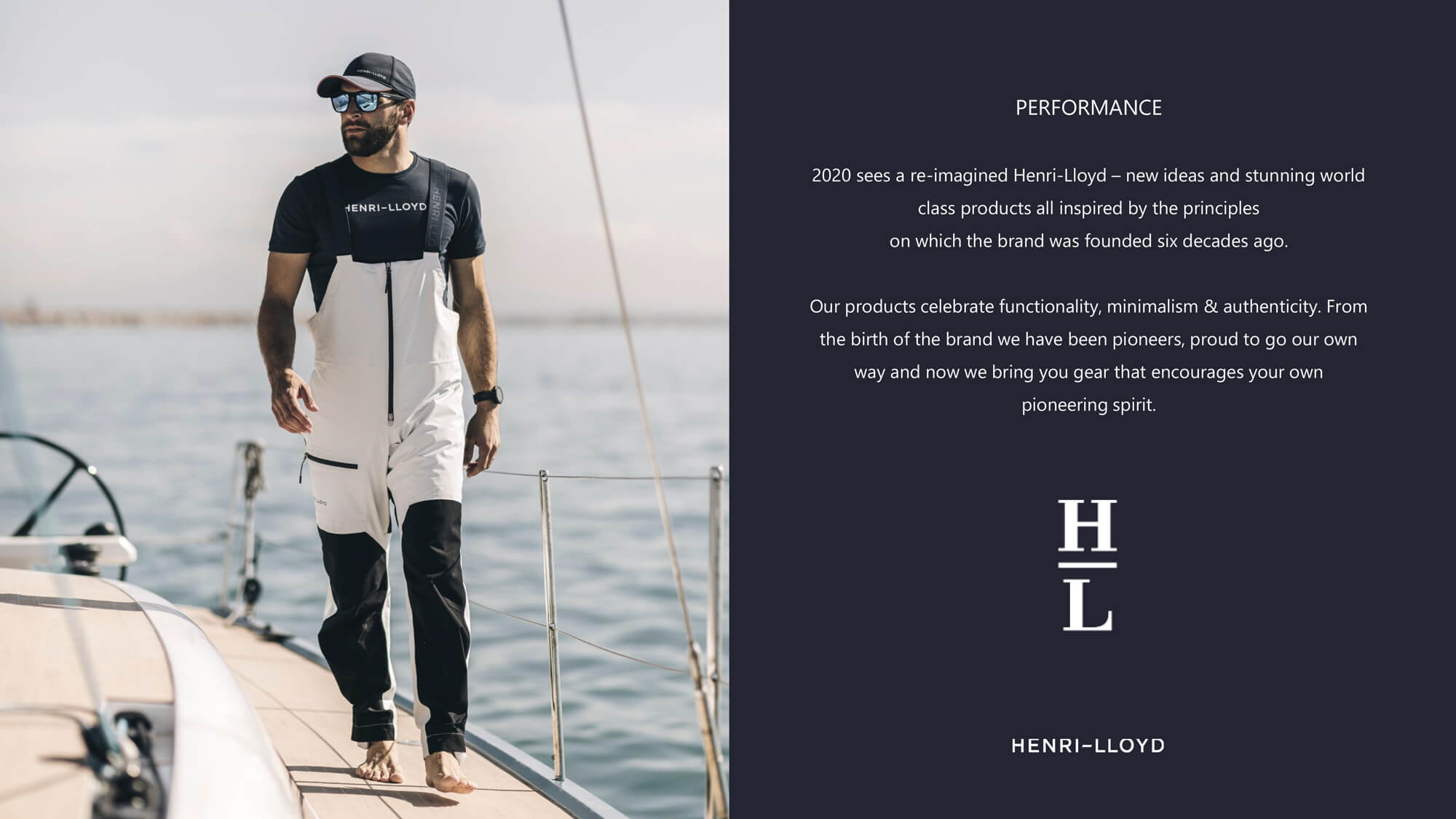 Henri Lloyd Workbook Performance 2020